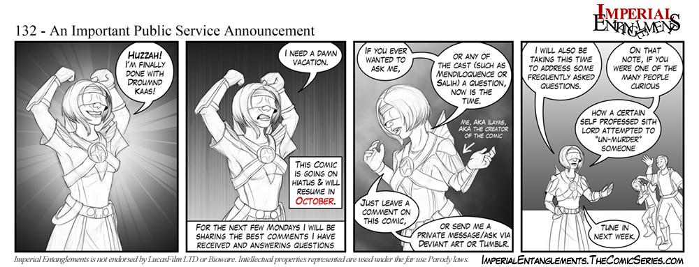 132 - An Important Public Service Announcement